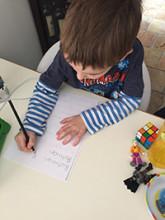 Alexander English writing